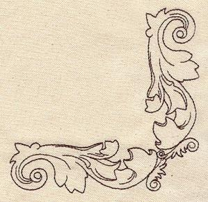 Carved Scroll Corner_image