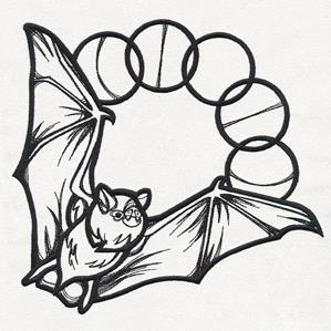 Mystique - Lunar Phase Bat_image
