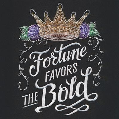 Bold Thoughts - Fortune Favors the Bold_image