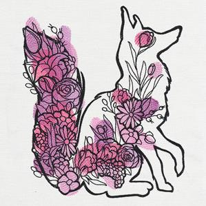 Floral Fox_image