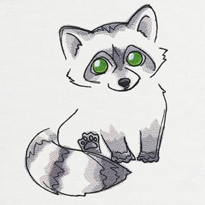 Fluffy Fauna - Raccoon_image
