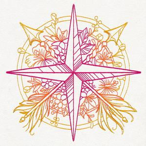 Bohemian Summer - Compass Rose_image