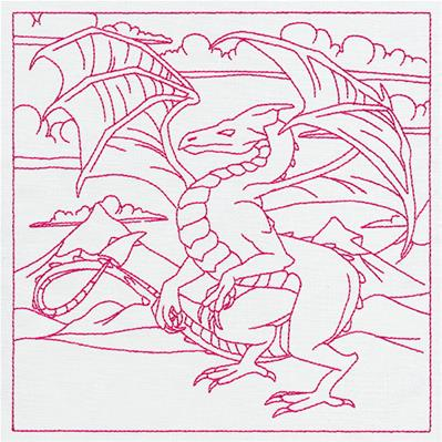 Fantasy Quilting - Dragon_image