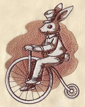 Bicycling Bunny_image