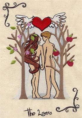 Tarot - The Lovers_image