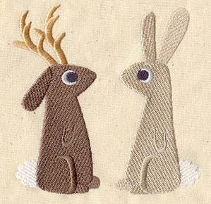 The Jackalope and the Rabbit_image