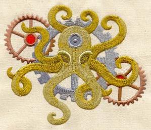 Steam Octopus_image