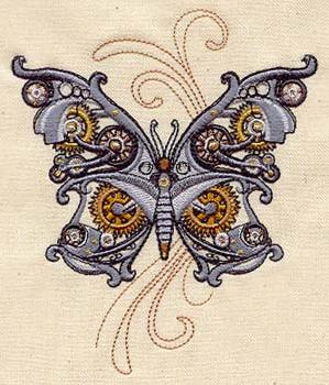 Steam Motifs - Butterfly_image