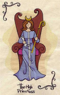 Tarot - The High Priestess_image