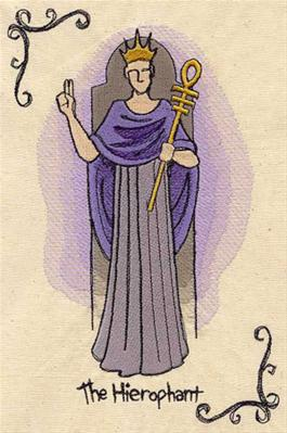 Tarot - The Hierophant_image