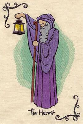 Tarot - The Hermit_image