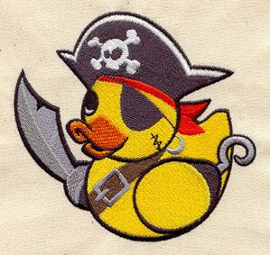 Pirate Duckie_image