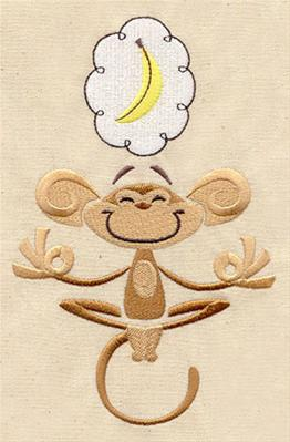 Meditating Monkey_image