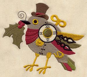 Clockwork Christmas Bird_image