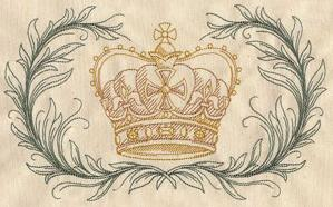 Parisian Crown and Laurels_image