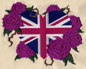 Union Jack and Roses_image