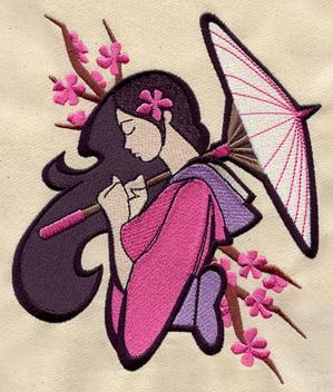 Asian Machine Embroidery Designs