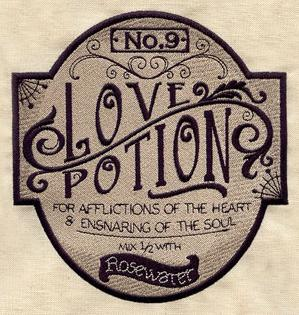 Love Potion Apothecary Label_image