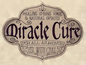 Miracle Cure Apothecary Label_image