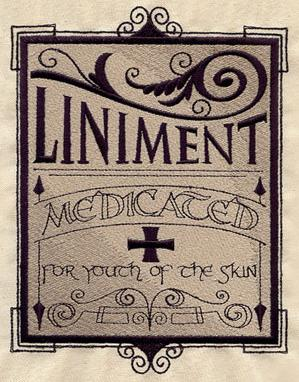 Liniment Apothecary Label_image