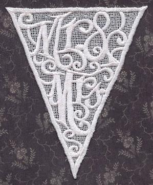 Wedding Bunting (Lace)_image