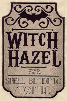 Witch Hazel Apothecary Label_image