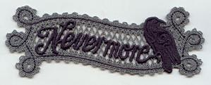 Nevermore Bookmark (Lace)_image