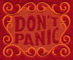 Don't Panic (Embossed)_image