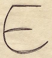 Handwriting Letter E - Uppercase_image