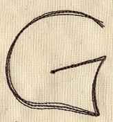 Handwriting Letter G - Uppercase_image