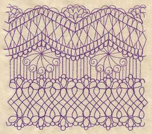 Delicate Lacy Border_image