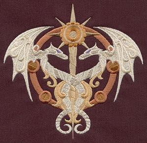 Steampunk Alchemy Caduceus_image