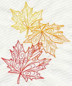 Delicate Autumn Leaves_image