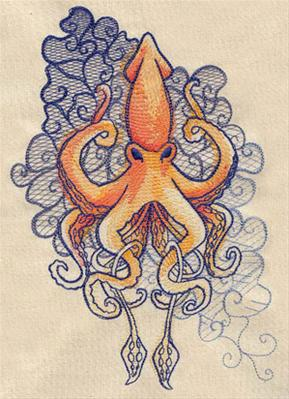 The Seven Seas - Squid Tattoo_image