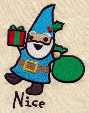 Too Cute Christmas Gnome - Nice_image