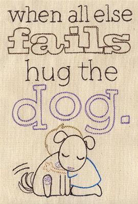 Hug the Dog_image