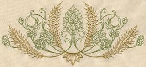 Hops and Grain Crest_image