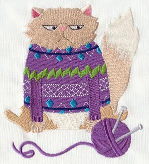Sweater Cat_image