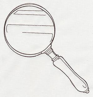 Miniature Menagerie Magnifying Glass_image