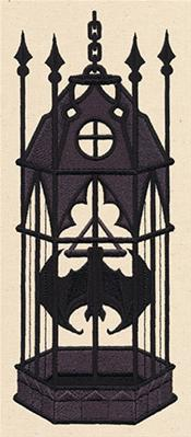 The Caged Bat_image
