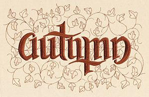 Autumn Ambigram_image