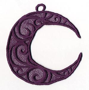 Crescent Moon (Lace)_image
