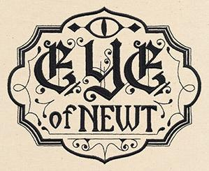Eye of Newt Apothecary Label_image