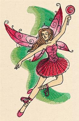 Painted Sugar Plum Fairy_image