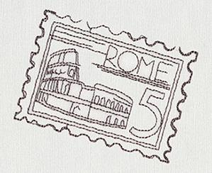 Global Stamps - Rome_image