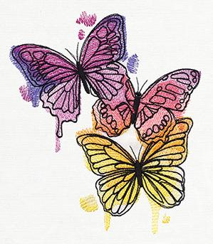 Painted Butterflies_image