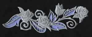 Rose & Bone - Border (Cutwork)_image