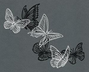 Flight & Dark Butterflies - Swarm_image