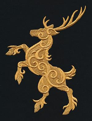Gilded Heraldry - Stag_image