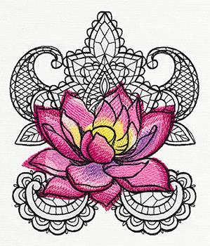 Painted Lotus_image
